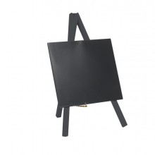 Mini Lavagna Con Cavalletto Nero 26X15Cm Securit