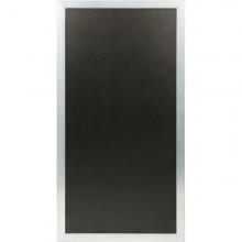 Lavagna Multiboard Nera 60X115Cm Cornice Argento Securit