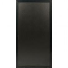 Lavagna Multiboard Nera 60X115Cm Cornice Nero Securit