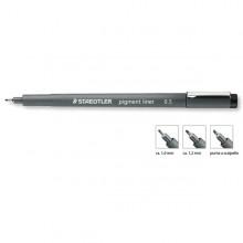 Pennarello Pigment Liner 308 nero 2,0mm punta scalpello Staedtler (conf. 10 )