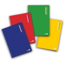 Blocco Notes Spiralato L/Lungo 22,3X29,7Mm 80Gr 4Mm 140Fg Bm (conf.3)
