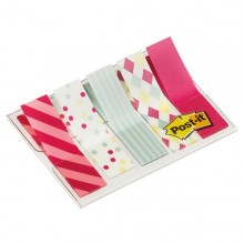 Dispenser 100 Segnapagina Post-It Index Mini 684 Candy 12X43.6Mm