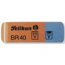 Box 40 Gomme Pelikan Br/40 Blu-Rossa