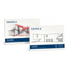 ALBUM FAVINI 4 24X33CM 220GR 20FG RUVIDO (conf. 5 )