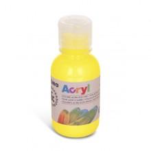 Colore Acrilico Fine Acryl 125Ml Giallo Primario Primo