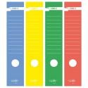 Busta 10 Copridorso Cdr-C Carta Adesiva Verde 7X34,5Cm Sei Rota