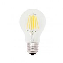 Lampada Led Goccia A60 A Filamento 7,5W E27 3000K Luce Calda