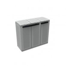 Contenitore Ecocab3 3X110Lt Per Raccolta Differenziata