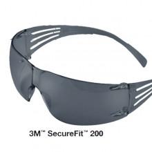 Occhiali Di Protezione Classic Securefit Sf202Af Lente Grigia 3M