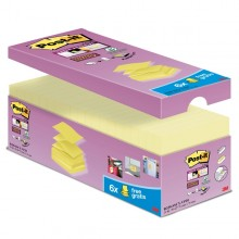 Value Pack 20 Blocch 90Fg Post-It Super Sticky Z-Notes 76X76Mm R-330-Sscy-Vp20