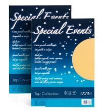 Carta Metallizzata Special Events A4 10Fg 250Gr Sabbia Favini