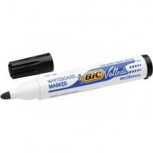MARCATORE P.TONDA 1.5MM NERO Whiteboard VELLEDA® 1701 Recycled BIC® (conf. 12 )