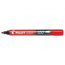 MARCATORE PERMANENTE 100 ROSSO P.TONDA 4.5MM PILOT (conf. 12 )