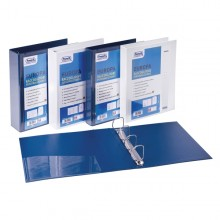 Raccoglitore Personalizzabile Europa Blu 4Q H65Mm Favorit