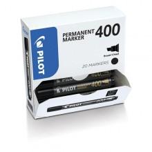 Bonus Pack 15+5 Marcatore Permanente 400 Nero P.Scalpello 4.5Mm Pilot