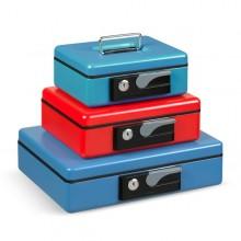 Cassetta Portavalori 230X185X80Mm Rosso Koala Deluxe