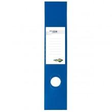 Busta 10 Copridorso Cdr Pvc Adesivi Blu 7X34,5Cm Sei Rota