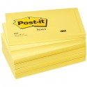 BLOCCO 100fg Post-it®Giallo Canary 76x127mm 655 (conf. 12 )