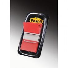 Segnapagina Post-It 680-1 Rosso 25.4X43.6Mm 50Fg Index