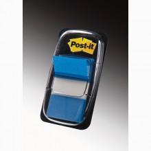 Segnapagina Post-It 680-2 Blu 25.4X43.6Mm 50Fg Index