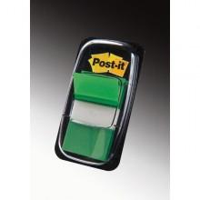 Segnapagina Post-It 680-3 Verde 25.4X43.6Mm 50Fg Index
