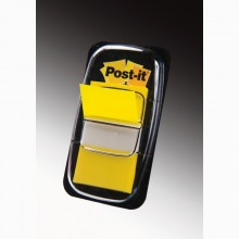 Segnapagina Post-It 680-5 Giallo 25.4X43.6Mm 50Fg Index