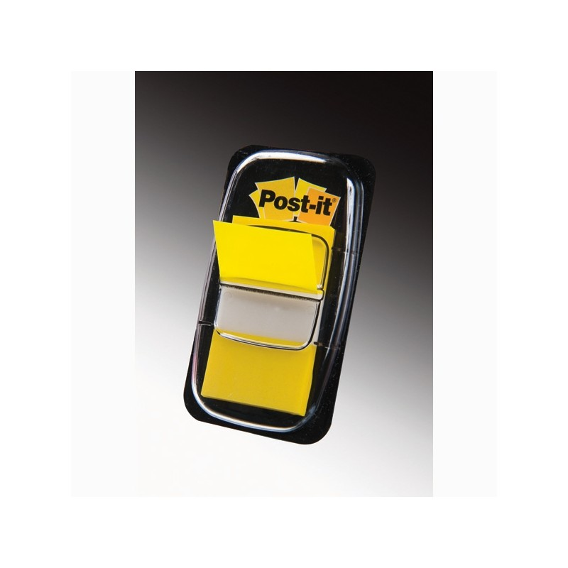 Segnapagina Post-It 680-5 Giallo 25.4X43.6Mm 50Fg Index