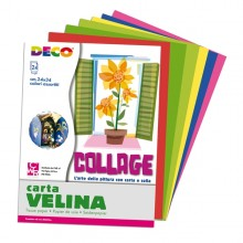 Album Di Carta Velina 24Fg 24X34Cm Colori Assortiti Cwr