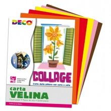 Busta Di Carta Velina 25Fg 50X76Cm 5 Colori Caldi Assortiti Cwr