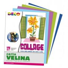 Busta Di Carta Velina 25Fg 50X76Cm 5 Colori Freddi Assortiti Cwr