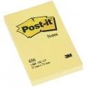 BLOCCO 100fg Post-it®Giallo Canary 76x51mm 656 (conf. 12 )