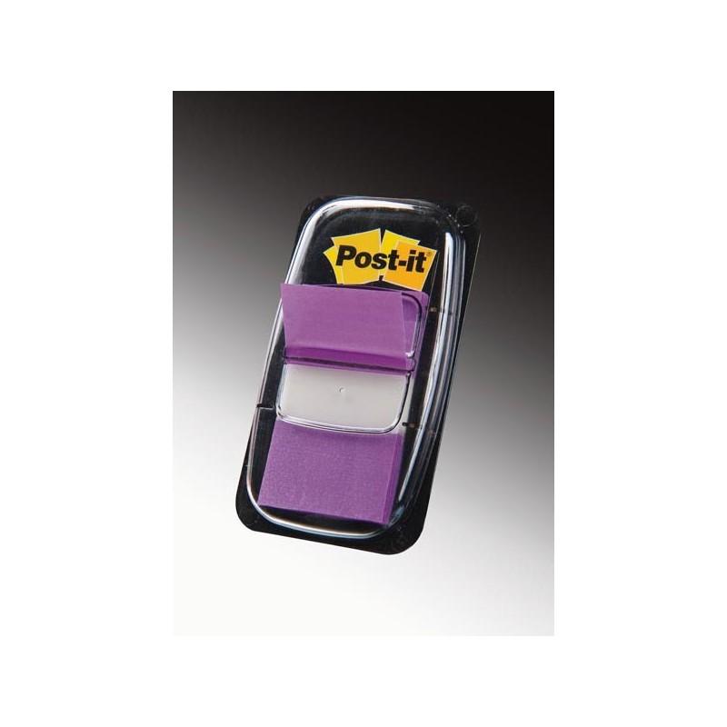 Segnapagina Post-It 680-8 Porpora 25.4X43.6Mm 50Foglietti