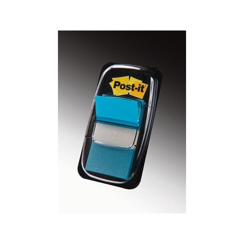 Segnapagina Post-It 680-23 Blu Vivace 25.4X43.6Mm 50Foglietti