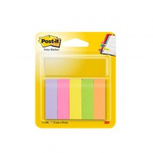 Segnapagina Post-It 670-5 (500Fg) 5Colori Index 15X50Mm In Carta