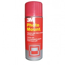 Adesivo Spray 3M Photo Mount Alta Qualita' - Trasparente 400Ml