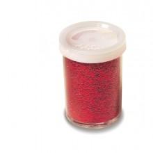 Glitter Flacone Grana Fine 25Ml Rosso Cwr (conf.12)