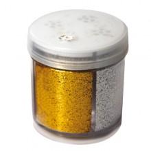 Glitter Dispenser Grana Fine 40Ml 4 Colori Assortiti Cwr