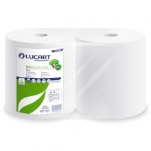 Bobina Asciugatutto 800 strappi / 200mt microgoffrata Eco Pulitutto Lucart (conf. 2 )
