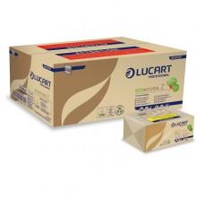 Pacco da 220 asciugamani piegati a Z EcoNatural Lucart (conf. 18 )