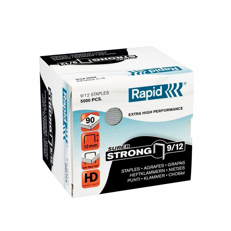 Scatola 5000 Punti Super Strong Rapid 9/12 Alti Spessori