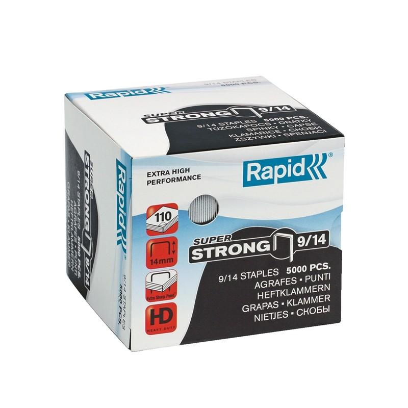 Scatola 5000 Punti Super Strong Rapid 9/14 Alti Spessori