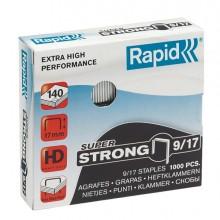 Scatola 1000 Punti Super Strong Rapid 9/17 Alti Spessori
