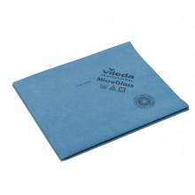 Conf. 5 Panni Blu Microglass 50X40Cm In Microfibra Vileda