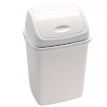 Pattumiera A Basculante 18Lt Rif Basic Bianco