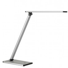 Lampada Da Tavolo Terra Led 5W Silver Unilux