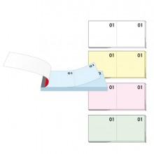 BLOCCO NUMERATO 1-100 colori assortiti 13x6cm art. 12/10B BM (conf. 10 )