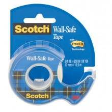 Nastro Adesivo Scotch Wall-Safe 19Mmx16,5Mt In Chiocciola 183-Isp