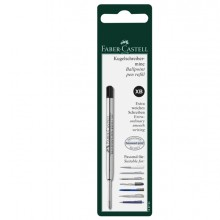 Blister Refill Xb Nero Per Penna Poly Ball Faber Castell