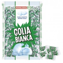 Caramelle Golia Bianca Busta 1Kg (400Pz Ca)