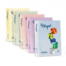 Carta Lecirque A4 80Gr 500Fg Giallo Pastello 100 Favini